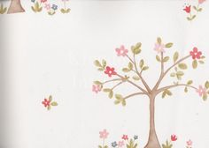 Apple Tree wallpaper by Camengo part of Lollipops collection | Kingdom Interiors
