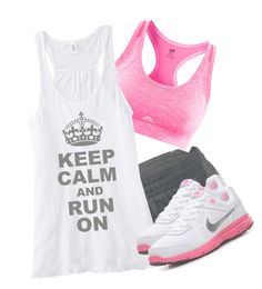 I want this. Super cute. What is better than feeling cute while working out? This would give me more motivation to do it!