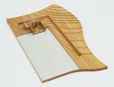 "Church on the Water, Hokkaido, Japan  Tadao Ando (Japanese, born 1941)    1985-89. Wood and Plexiglass, 5 1/2 x 53 11/16 x 32"" (14 x 136.4 x 81.3 cm). Gift of the architect"