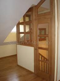 Cerramiento de buhardilla en roble cerramientos de - Escalera de buhardilla ...