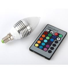 http://ift.tt/1NnKt5A Aitao E14 RGB LED Lampe Birne Licht Leuchtmittel 16 Farbe Farbwechsel mit Fernbedienung / 3W 110-240V $(niiloip)!#