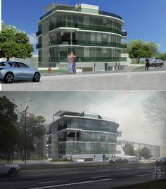 Before and After - architecture. Post-production: Photoshop. Projeto: A&C CONSTRUCTORA https://julianaschneiderar.wixsite.com/postproduction