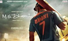 Upcoming Bollywood Movie - M. Dhoni: The Untold Story with Sushant Singh Rajput as lead role of M. S Dhoni .Movie star cast , M. S Dhoni film release date . Movie M, Movie List, 2015 Movies, Hd Movies, Films, Ms Dhoni Movie, Anupam Kher, Box Office Collection, Piano Tutorial
