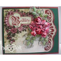 Gallery | True Beauty Rose Cluster - Heartfelt Creations                                                                                                                                                     More