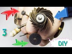 How to make with your own hands this three drilling machine bits: rotary needle file sanding disks sandpaper flap wheel discs Attention! Dremel Bits Guide, Dremel Tool Projects, Dremel Rotary Tool, Hole Puncher, Drilling Machine, Diy Home Repair, Woodworking Crafts, Tools, Drill