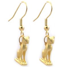 Cat Amulet Earrings | Museum Store Company gifts, jewelry and more
