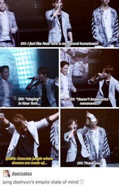 BABYs got Daehyun's back | B.A.P