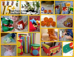 recycled art projects for kids | Train Craft from Recycled Materials From Recycle Box to Story Box