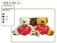 Oso Corazón - Promoción -15% = $210 (Precio de Lista $250.-)