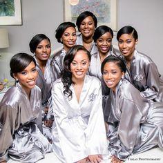 Lace Bridal, Airstream Bambi, Bridal Party Robes, Before Wedding, Brides And Bridesmaids, Bridesmaid Robes Cheap, Bridesmaid Gifts, Wedding Poses, Wedding Venues