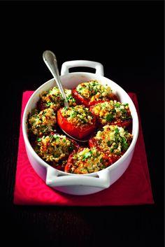 Recette de tomates à la provençale de Robuchon par Sophie