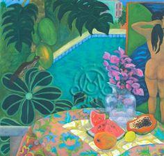 Janet Cook-Rutnik's a la Gauguin