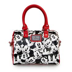Mickey Black/White Multi Face Duffle - Disney - Brands