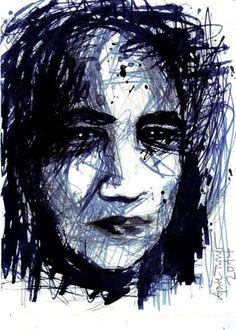 Selfportrait Series Raven 2014 http://aprilturner.jimdo.com/