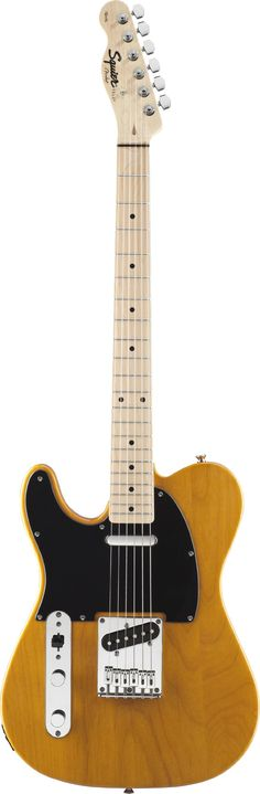 Fender Squier® Affinity Telecaster® - Left Handed Electric Guitar, Butterscotch Blonde 'The links used are affiliate links. By buying through the links I may receive a commission for the sale. This has no effect on the price for you.'