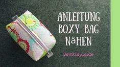 Ihr habt gefragt, ob wir eine Video-Anleitung für unsere Boxy Bag machen können. Hier ist sie: die Anleitung für die einfachste Kosmetiktasche der Welt! ;o)