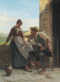 Luigi Bechi (Italian, Florenz 1830–1919)