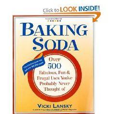 Over 500 ways to use baking soda
