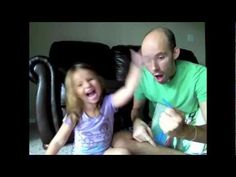 Deaf Dad and Daughter read Sleeping Beauty (teaching ASL). This makes me so happy :)