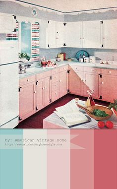 My husband says he one day wants to build me a dream kitchen. His dream or mine? If it's mine, I'll take this one.