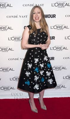 Chelsea Clinton Reveals Her Gorgeous Post-Baby Figure At Glamour's Women Of The Year Awards!