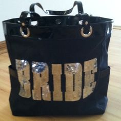 BRIDE Tote Sequin Bling Bag NEW Wedding Shower Gift  $22.99