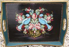 Norwegian rose painting