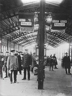 Berlin 1916 Bahnhof Zoologischer Garten