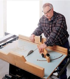 How to Square-Up Parts on a Table Saw with a Crosscut Sled or an Infeed Table