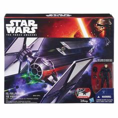 Star Wars The Force Awakens Vehicle. - Star Wars The Force Awakens Vehicle First Order Special Forces TIE FighterLaunch into action and adventure in the world of Star Wars! Discover the exciting stories of good versus evil in a. Disney Star Wars, Star Wars Episoden, Star Wars Toys, Lego Star Wars, Tie Fighter, Fighter Pilot, Star Wars Merchandise, Episode Vii, Star Wars Collection