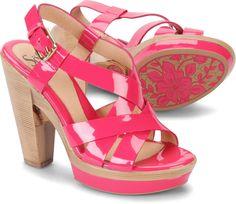Velia Neon Pink Patent (1262905) $105.95 Sofft