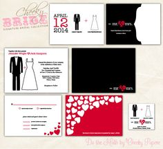 """Bold, yet simple with the focus solely on love – Cheeky Bride's Signature """"Mr & Mrs Do the Math"""" bridal suite will certainly make an impression on your wedding guests. Each piece will be personalized by our dedicated designers, including color customization. Want something added to the Collection? Just let us know and we'll make it happen!"""