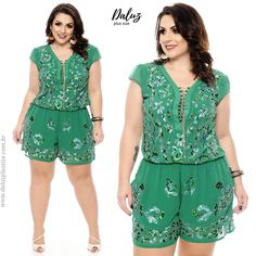 Trendy Fashion Plus Size Short Outfit Ideas Winter Fashion Outfits, Cute Fashion, Girl Fashion, Fashion Dresses, Trendy Fashion, Jeans Fashion, Plus Size Jumpsuit, Plus Size Shorts, Plus Size Dresses