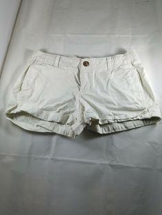 85ecb9363da Old Navy Women s Size 4 Perfect Khakis Shorts Cotton Spandex Beige