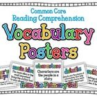 These vocabulary posters align with the 4th Grade Reading Street Series from Pearson.  They are colorful, yet simple posters that give the comprehe...
