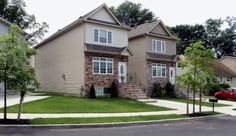 Houses in Travis, Staten Island.