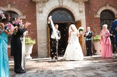 Surprise butterfly release grand exit - Wedding Coordination by Camille Victoria Weddings LLC / Photo by Allure Photo.