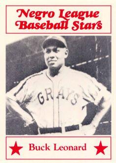 negro league baseball   1986 Fritsch-Negro League Baseball Stars-Samples