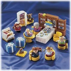 Little People Hanukkah.  I love LP!  I've seen the Nativity set, this is super cute, too!!