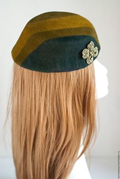 Купить ОТТЕНКИ ЗЕЛЕНОГО - хаки, зеленый, оливковый, оттенки зеленого, правильные шляпки, right hats