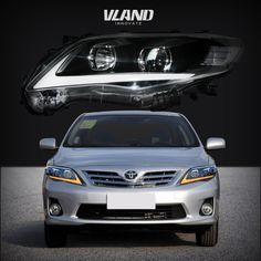 Vland Car Lamp Corolla 2011-2013 LED head lights Head lamp Assembly #vland #toyotacorollaheadlight #toyotacorollaheadlamp #toyotacorollaheadlights #toyotacorollaheadlmaps #toyotacorolla Led Tail Lights, Car Lights, Toyota Camry, Toyota Corolla, Motorcycle Accessories, Car Accessories, Toyota 2011, Corolla Altis, Autos