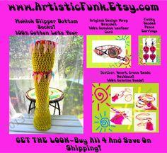 GET THE LOOKMukluk Slipper SocksBeaded Wrap by ArtisticFunk, $95.00