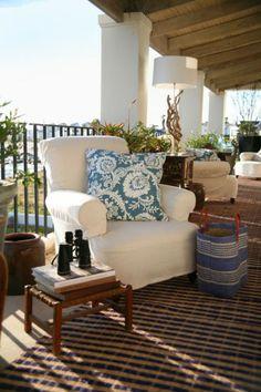 Designer Spotlight: John Jacob Interiors- an encore! ~ Home Interior Design Ideas Living At Home, Coastal Living, Living Spaces, Outdoor Rooms, Outdoor Living, Outdoor Decor, Outdoor Patios, Deck Patio, Outdoor Kitchens