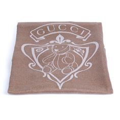 Gucci baby blanket with bunny crest Wool Baby Blanket, Bear Blanket, Baby Blankets, Shopping Cart Hammock, Snuggle Nest, Gucci Baby, Baby Sleepers, Baby Towel, My Little Baby