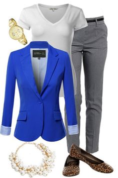 Business outfits are not the same as the casual wear. Folks would seem distinguished and clean if they're sporting the most suitable outfit. Stylish Work Outfits, Summer Work Outfits, Business Casual Outfits, Business Attire, Office Outfits, Mode Outfits, Work Casual, Fall Outfits, Fashion Outfits