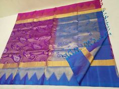 Want to buy silk sarees with designer blouse? Lehenga Online, Sarees Online, Picnic Blanket, Outdoor Blanket, Kanjivaram Sarees, How To Look Classy, The Help, Bridal Sarees, Quilts