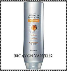Brand New Avon ADVANCE TECHNIQUES Frizz Control Lotus Shield Conditioner - Full Size