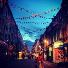 Rose Street #edinburgh