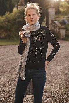 Anthropologie Stargazer Pullover