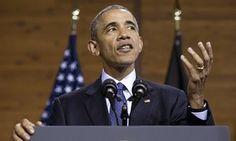Barack Obama in Hanover.